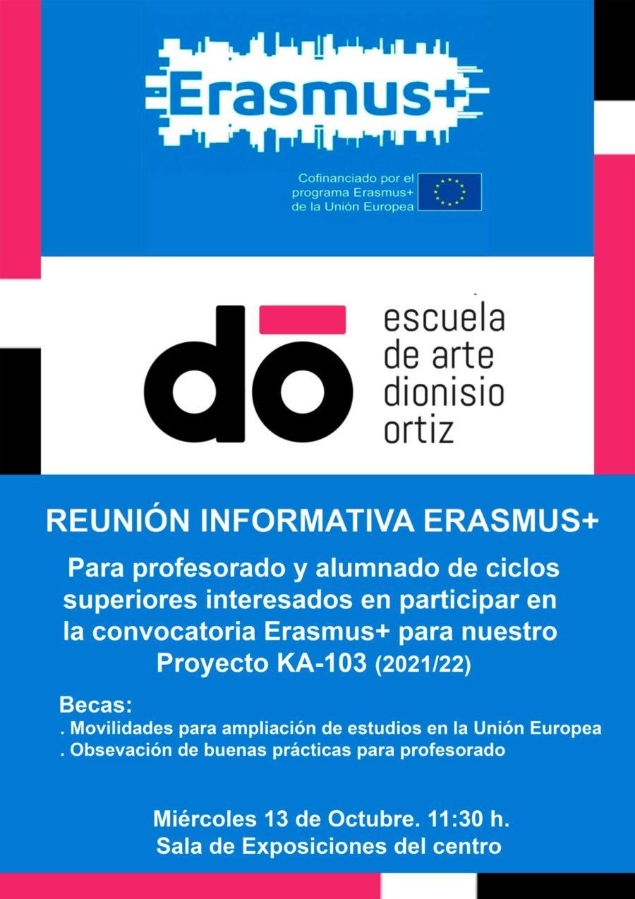 Reunión informativa sobre ERASMUS+
