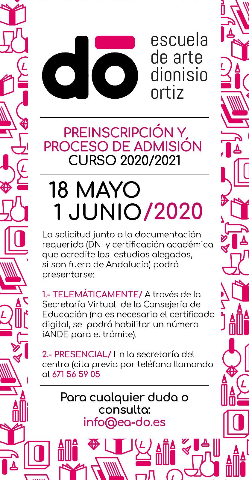Preinscripcion y Proceso de Admisión 2020-2021 (1)