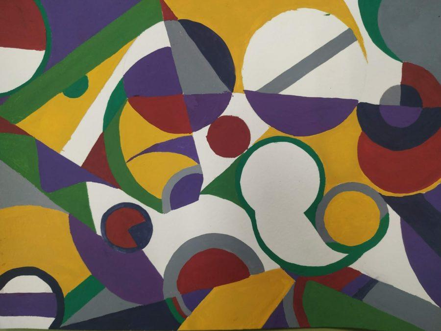 Armonías cromáticas inspiradas en Sonia Delaunay