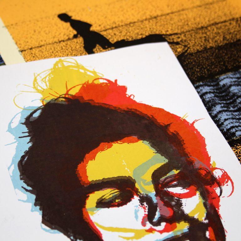 Serigrafía Artística - Ciclo Formativo de Grado Medio - Escuela de Arte Dioniosio Ortiz (4)