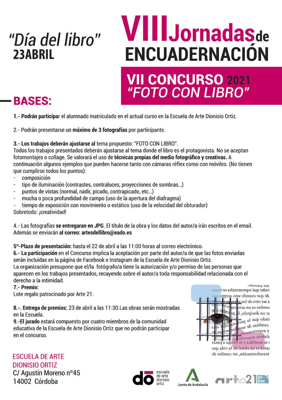 "VII Concurso ""Foto con libro"" 2021"