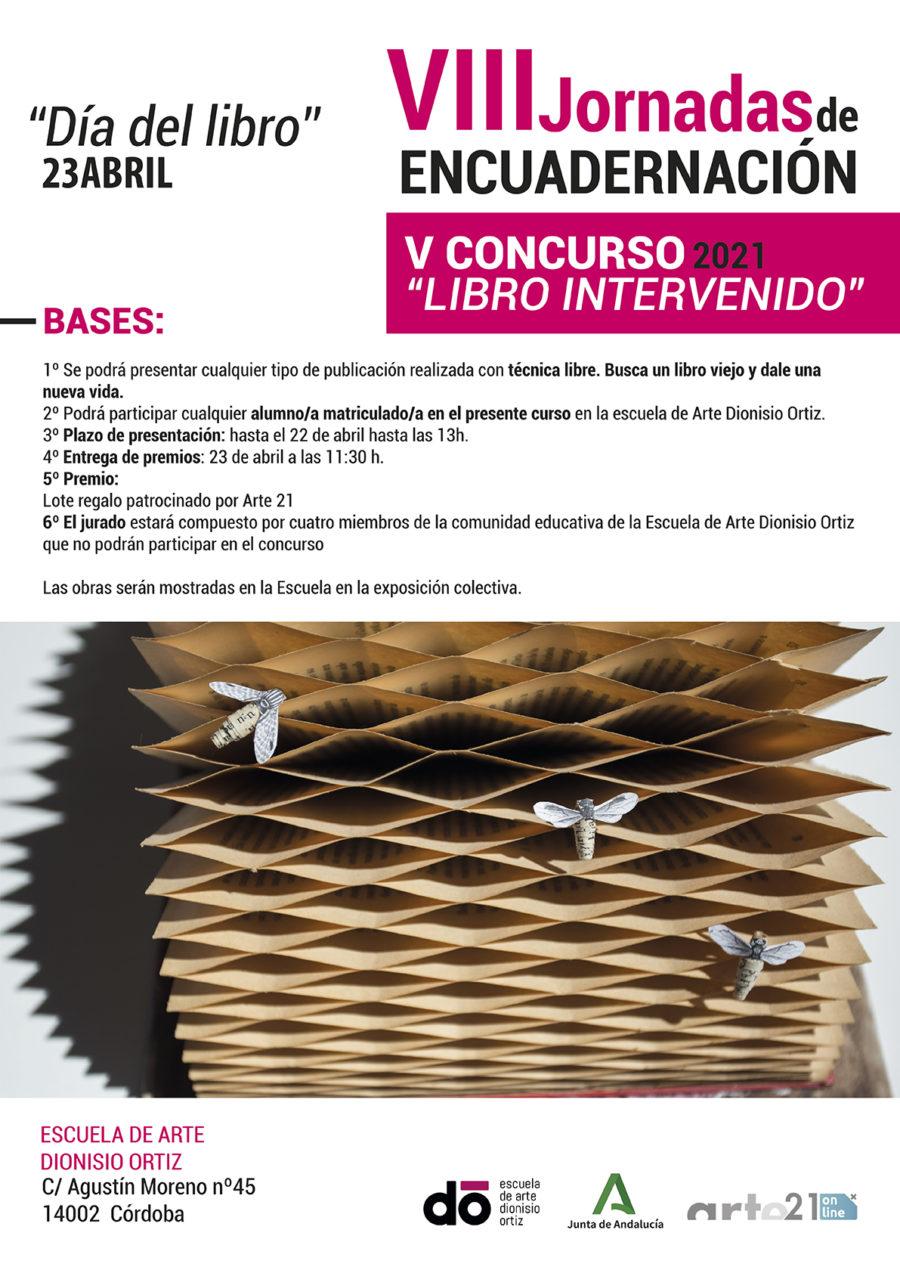 """V Concurso """"Libro Intervenido"""" 2021"""