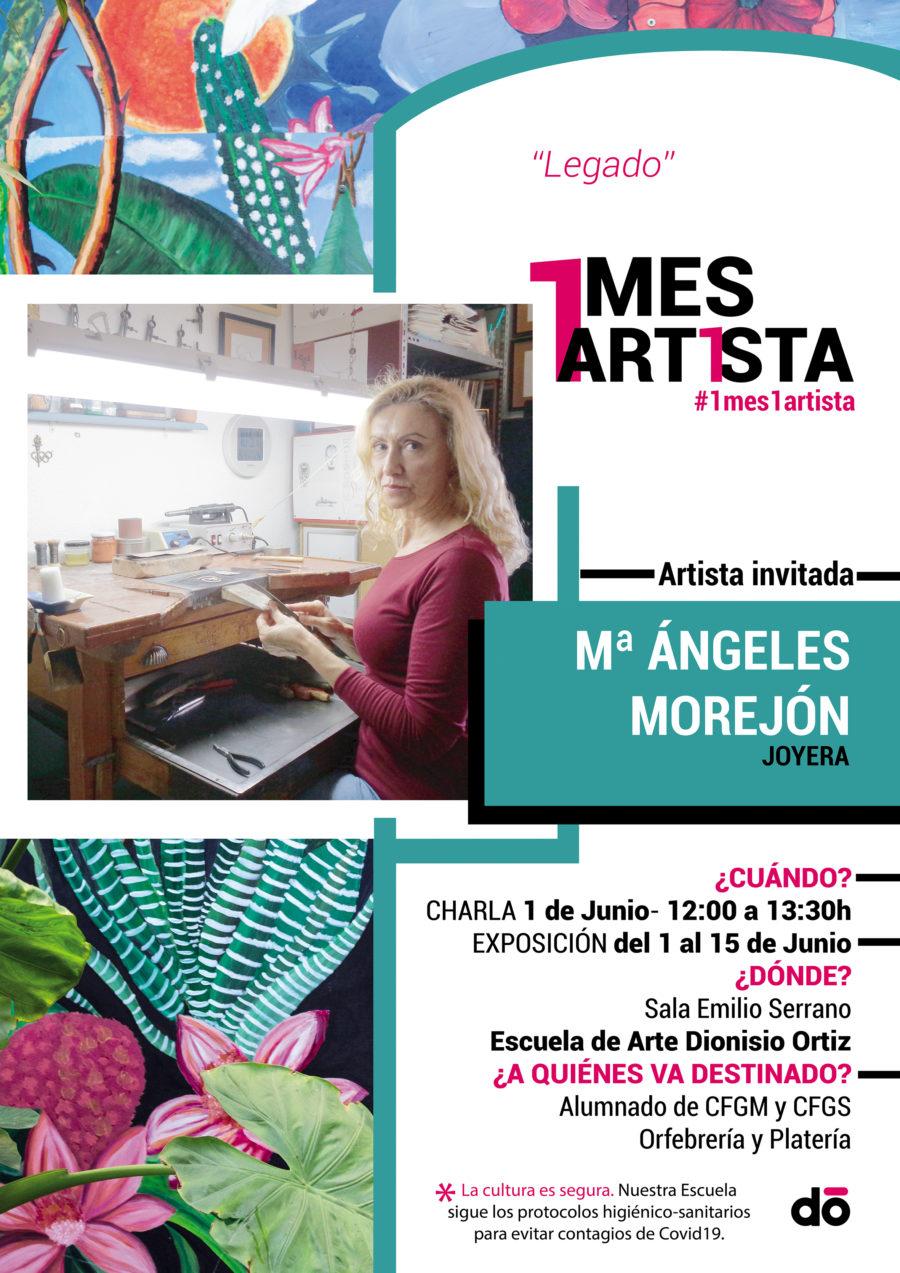 1 mes, 1 artista: Mª Ángeles Morejón.