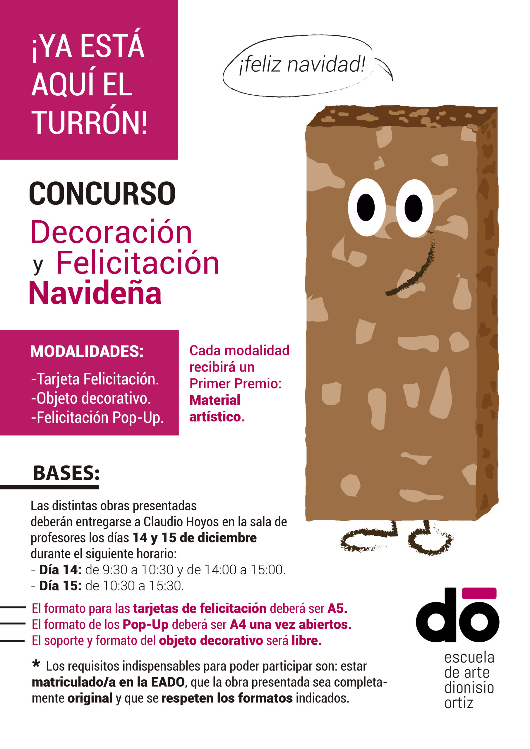 Concurso de Decoración y Felicitación Navideña.