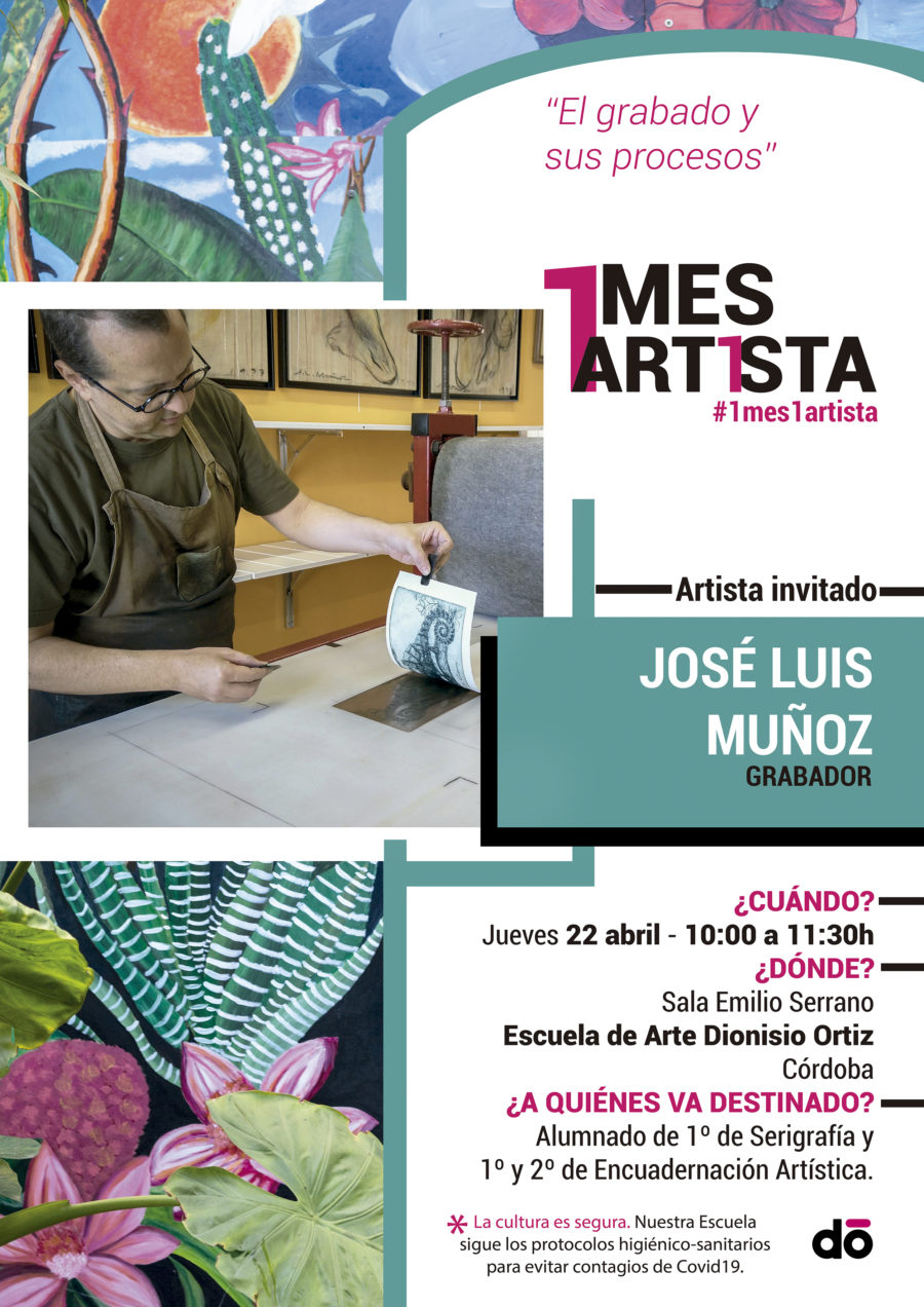 1 mes, 1 artista: José Luis Muñoz