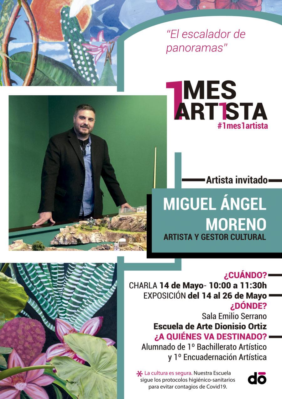 1 mes, 1 artista: Miguel Ángel Moreno Carretero