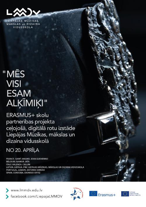 """Exposición virtual de joyería del proyecto """"Erasmus"""""""